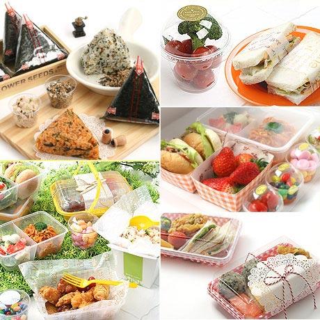 삼각김밥 만들기 & 일회용도시락