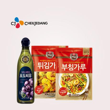 [늘필요] CJ 포도씨유 900mlx3