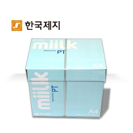 밀크PT A4용지 90g 2500매 1박스