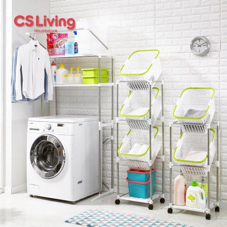 [무료배송] 세탁기선반 & 빨래바구니