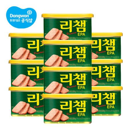 [무료배송] 리챔 EPA 200g x 10캔