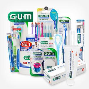 [원더배송] 검 gum 칫솔, 치약, 치실