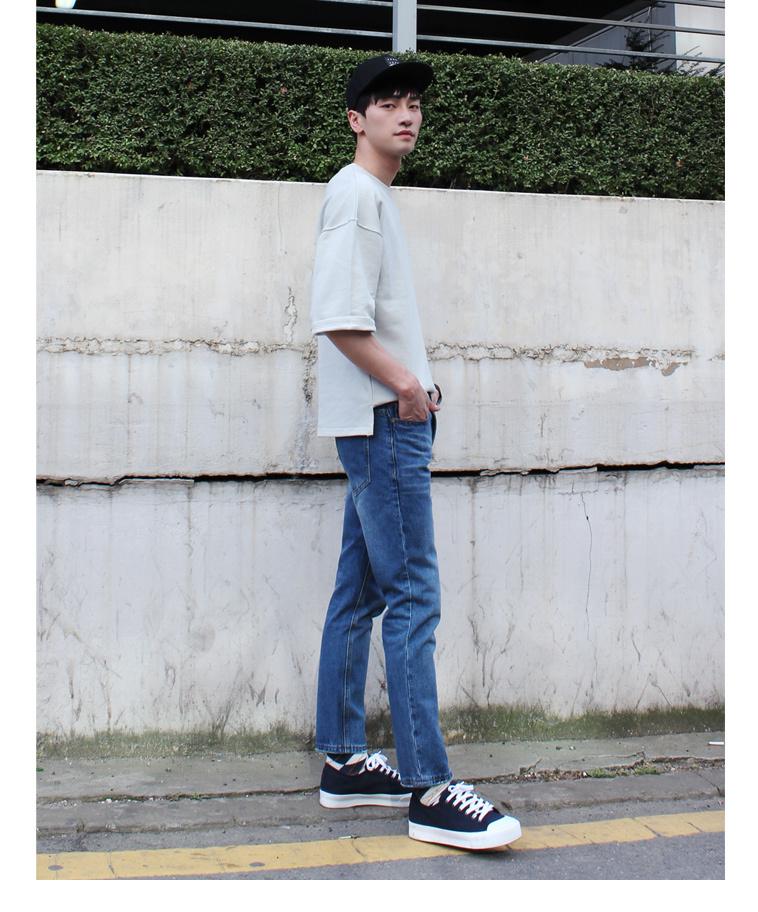 [무료배송] 남자 워싱스판 청바지 - 상세정보
