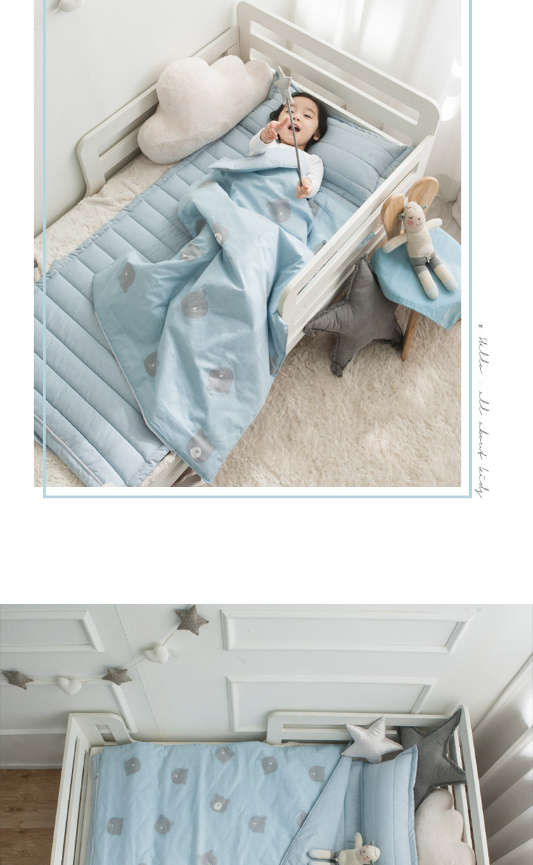쉬즈홈 순면 DTP 유아낮잠이불 - 상세정보