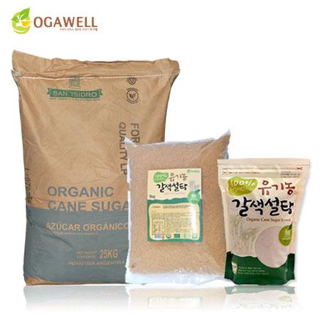 유기농설탕 비정제 사탕수수