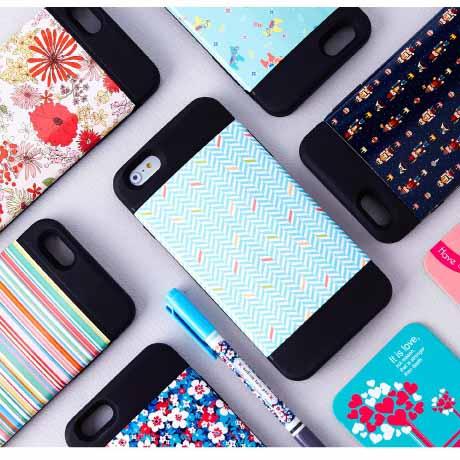 패턴 범퍼 폰케이스 아이폰6 플러스