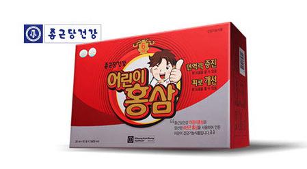 [원더배송] 어린이홍삼 20ml 30포