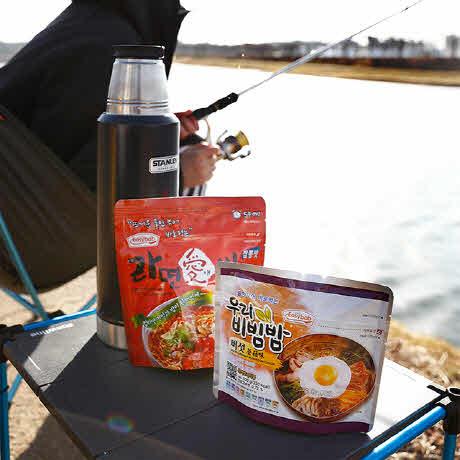 이지밥 비상 전투식량 즉석요리