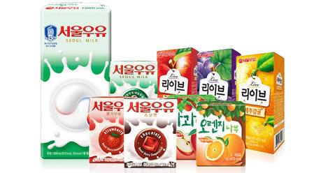 [원더배송] 서울 멸균우유 200ml X24