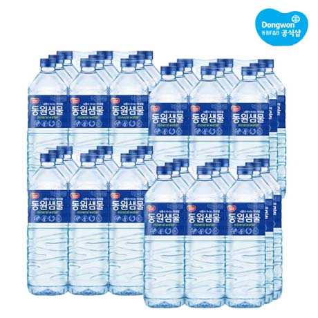 동원샘물 생수 2L 36팩