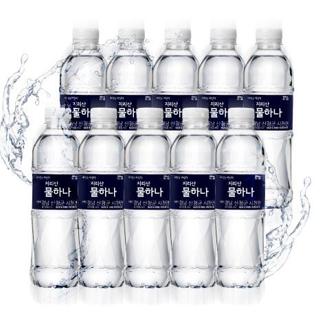 [원더배송] 지리산 생수 500ml X 40