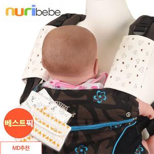 누리베베 아기띠 침받이/립