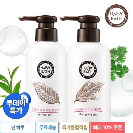 [투데이특가] 해피바스 청결제 1+1
