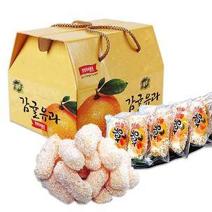 제주 감귤유과 선물세트 무료배송!