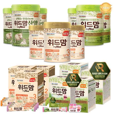 위드맘 분유/스틱분유 1캔/1BOX
