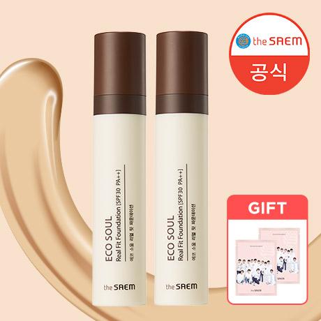 [무료배송] 더샘 리얼 핏 파운데이션