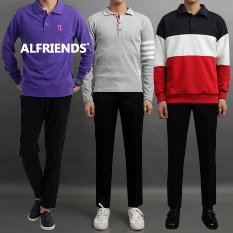 [무료배송] 알프렌즈 남자카라티셔츠