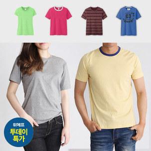 [투데이특가] 심플,깔끔 티셔츠~
