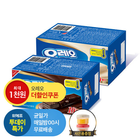 [투데이특가] 오레오웨하스2+락앤락