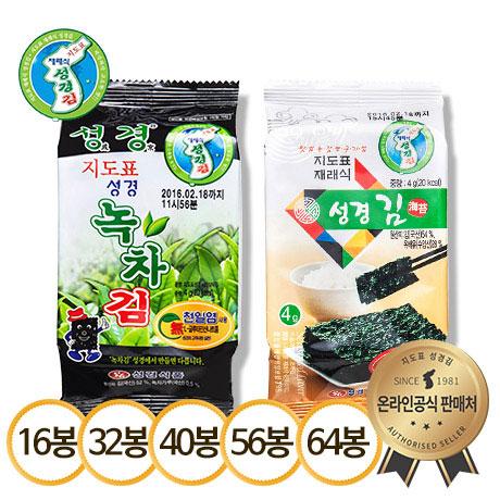 [무료배송] 성경김 식탁김 30gX16 외