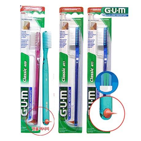 [무료배송] GUM 클래식칫솔12개