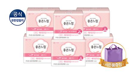 [스타쿠폰] 좋은느낌 생리대 총134매