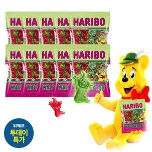 [투데이특가] 하리보 젤리 200g 10봉