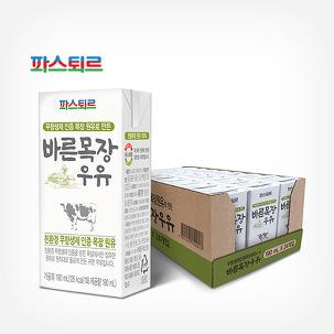 [원더배송] 바른목장 멸균우유 24팩!