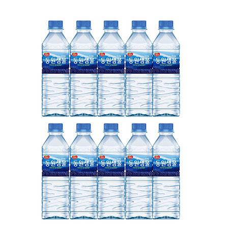[무료배송] 동원샘물 생수500ml 40펫