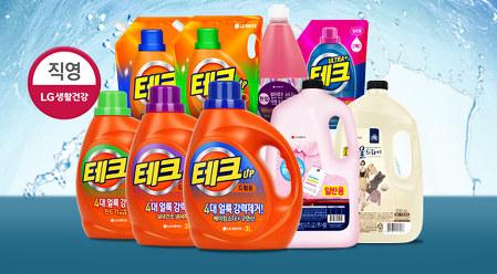 [스타쿠폰] 테크 액체 세탁세제 3L