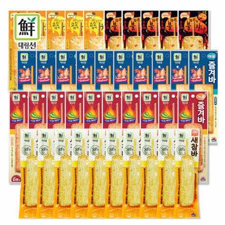 [사조대림] 인기어묵바 5종세트 40팩