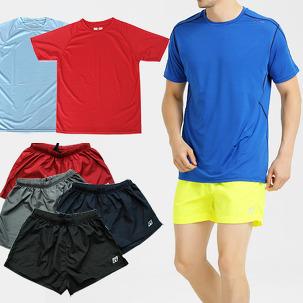 스포츠웨어 팬츠/기능성티셔츠 모음