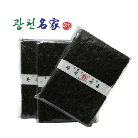 [원더쿠폰] 광천 재래 전장김 10봉