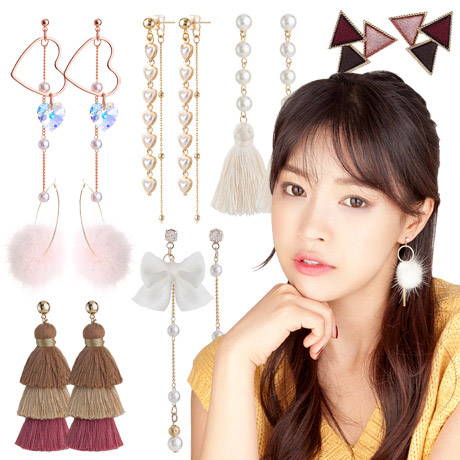 [무료배송]  인기신상 귀걸이/귀찌
