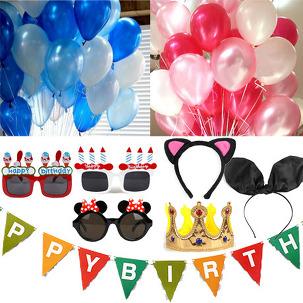 다양한 파티용품 & 장식소품