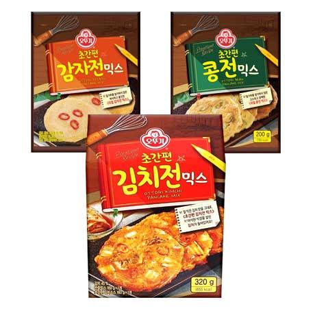 오뚜기 감자전/콩전/김치전 믹스