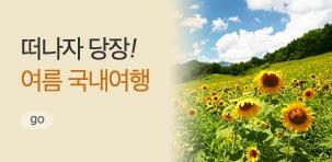 [기획전] 국내여행 여름기획전!!