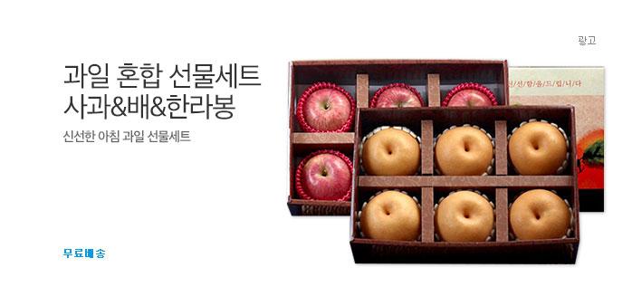 [1+1] 사과&배&한라봉 혼합 선물세트_best banner_0_식품_/deal/adeal/1633119