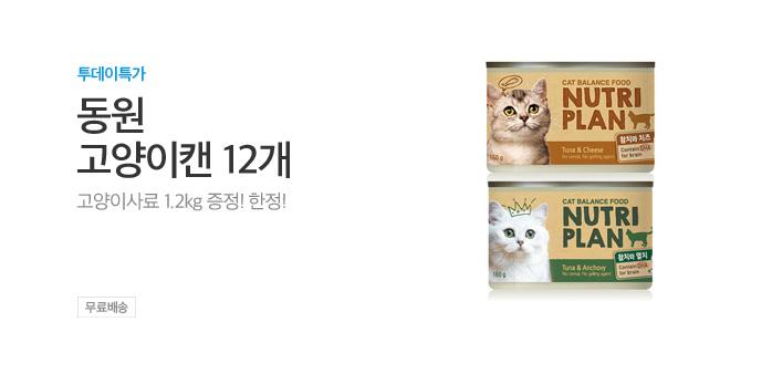 [투데이특가] 동원 고양이캔 12개_best banner_0_반려동물용품_/deal/adeal/1979689